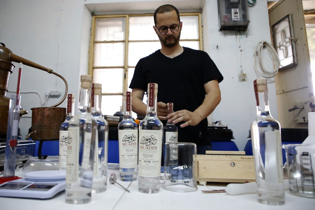 From Bethlehem basement, Palestinian distiller toasts global acclaim
