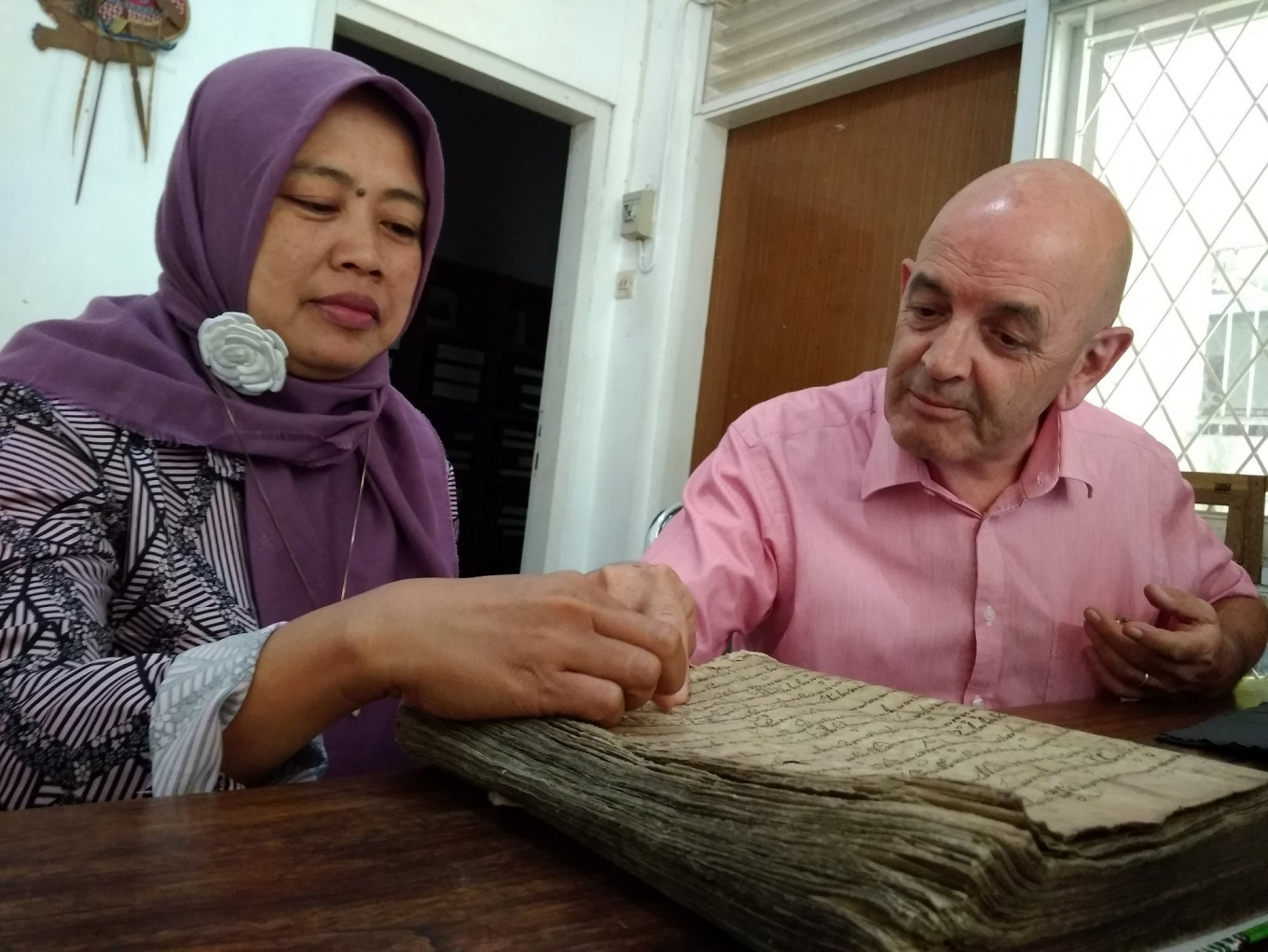 John Peterson's passion for old Javanese manuscripts