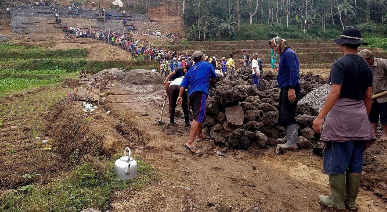 In Muslim-majority Blitar, villagers maintain interfaith harmony brick by brick