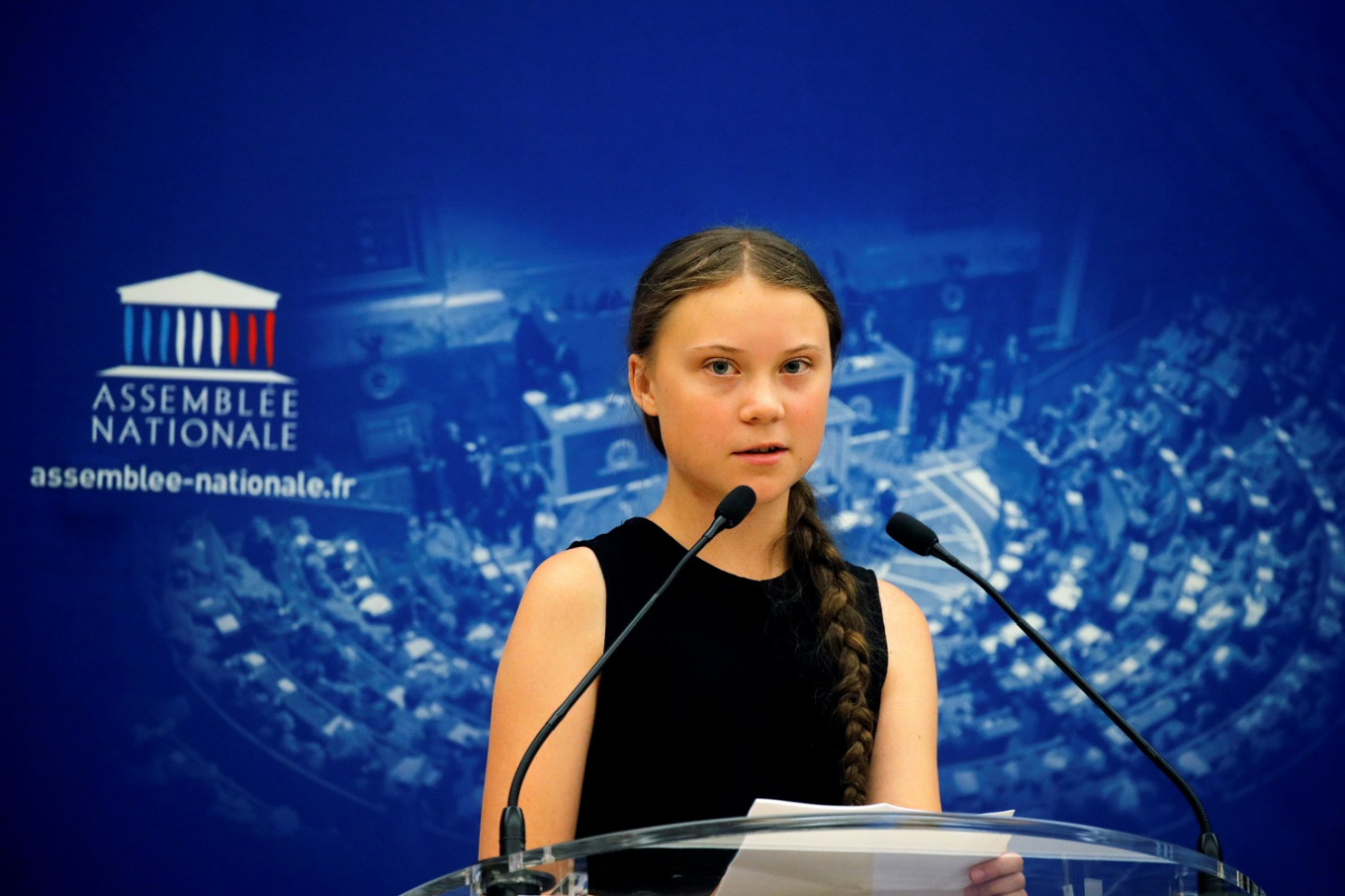 Greta Thunberg, it's OK to fly to New York