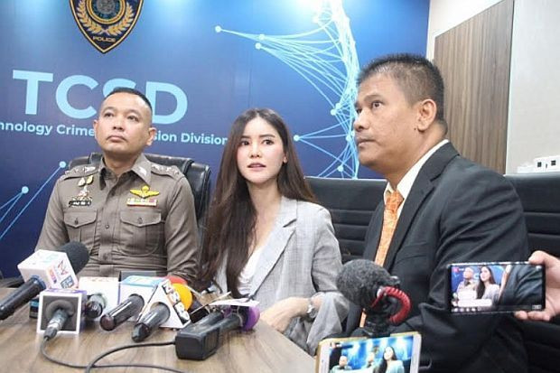 Thai police question Net idol over 'Blue' videos