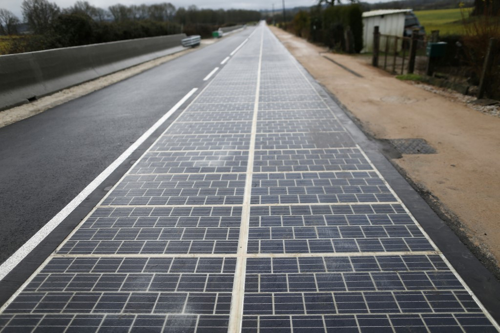 France to try again with solar road plan