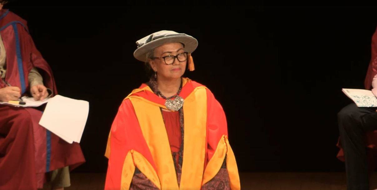Lawyer Nursyahbani receives honorary doctorate from SOAS University of London