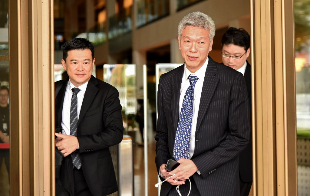 Singapore PM's brother won't contest election