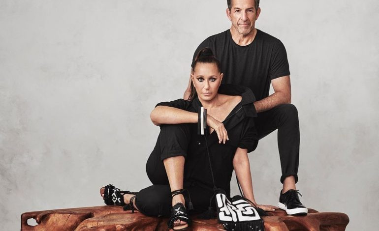 Donna Karan and Kenneth Cole unveil new footwear collaboration