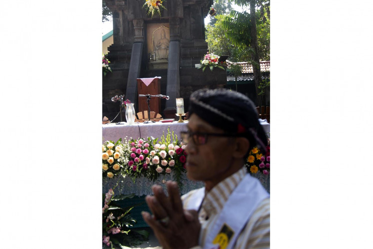 Unique Javanese-Catholic tradition in Bantul
