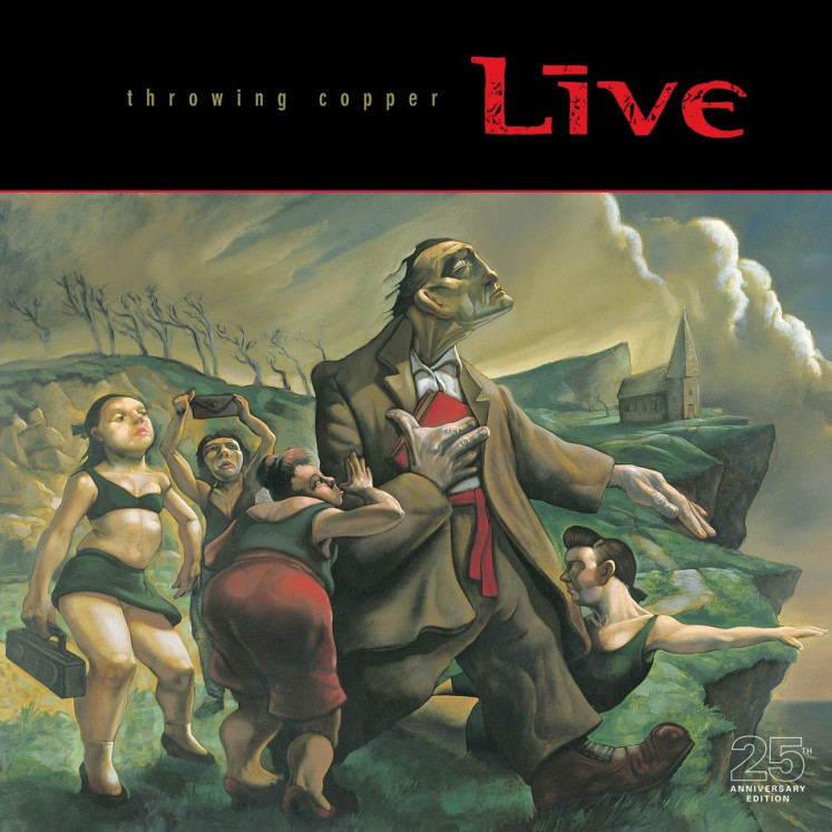 After 25 years, Live's 'Throwing Copper' remains alternative rock