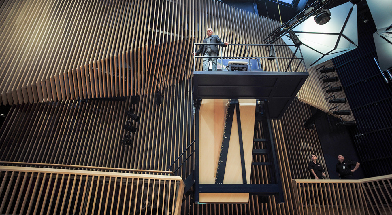 World's largest concert piano strikes chord in Latvia