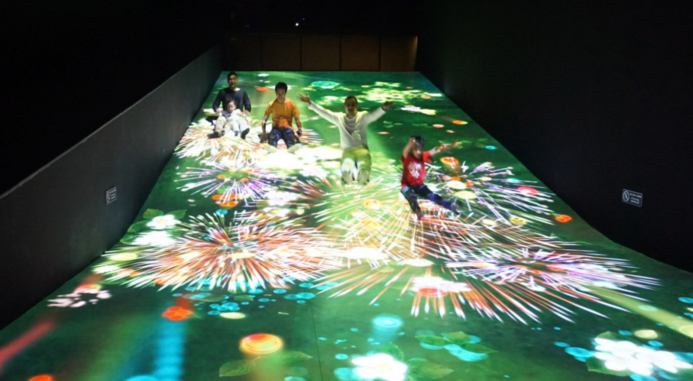 teamLab Future Park: When nature meets technology