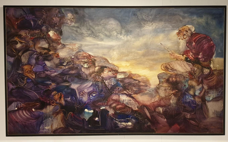 Dialog (2005) by Nyoman Sukari