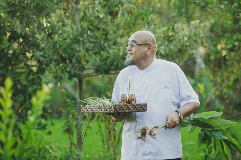 Slow food all the way from farm to table at Chedi Club Tanah Gajah Ubud