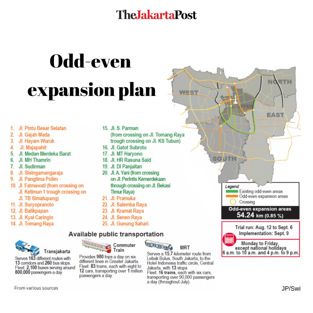 Expanded odd-even trial 'improves traffic flow, reduces
