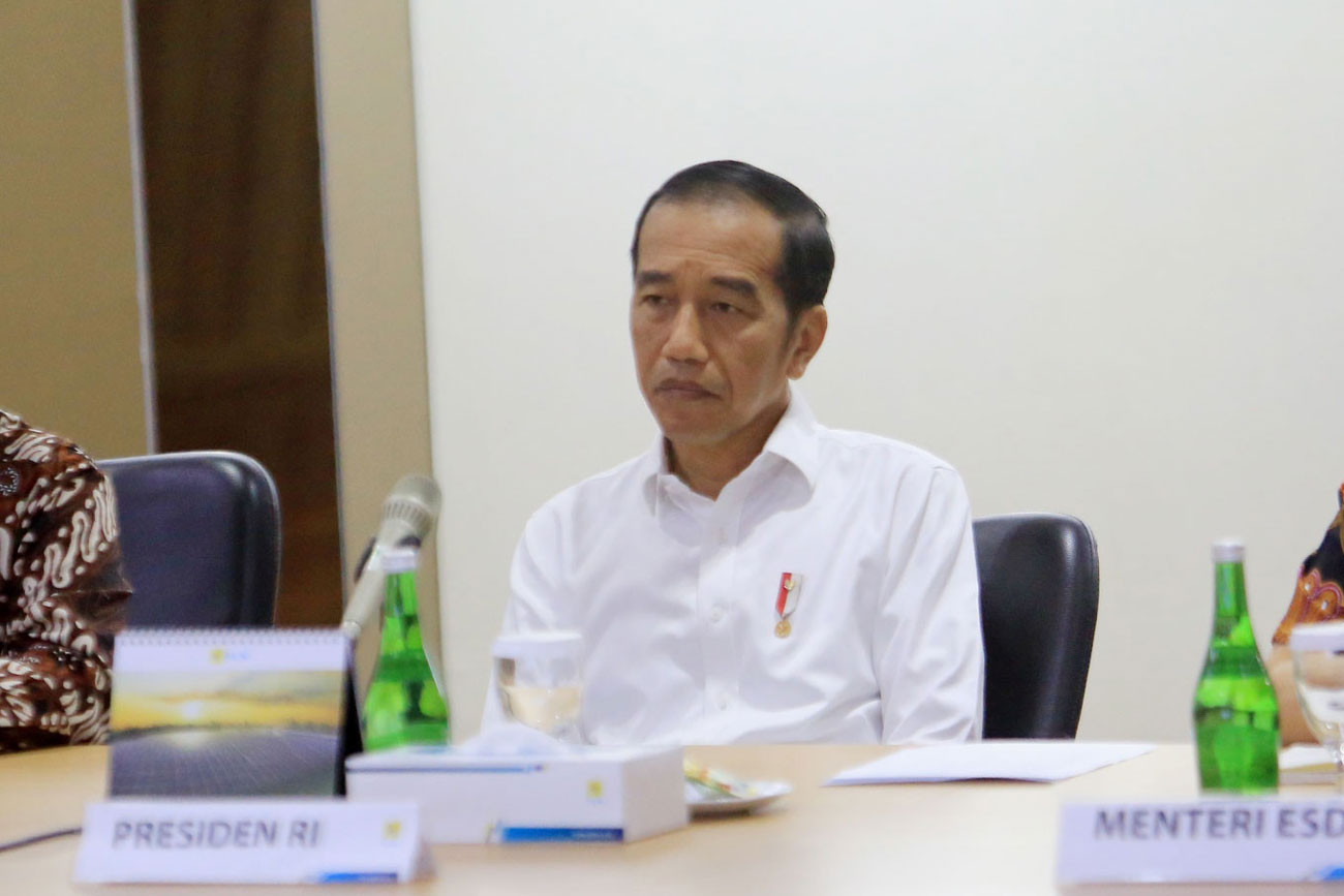No more foreign hoes, Jokowi says
