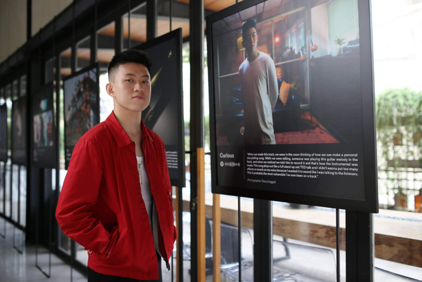 Rich Brian gets personal in 'The Sailor Experience' exhibition
