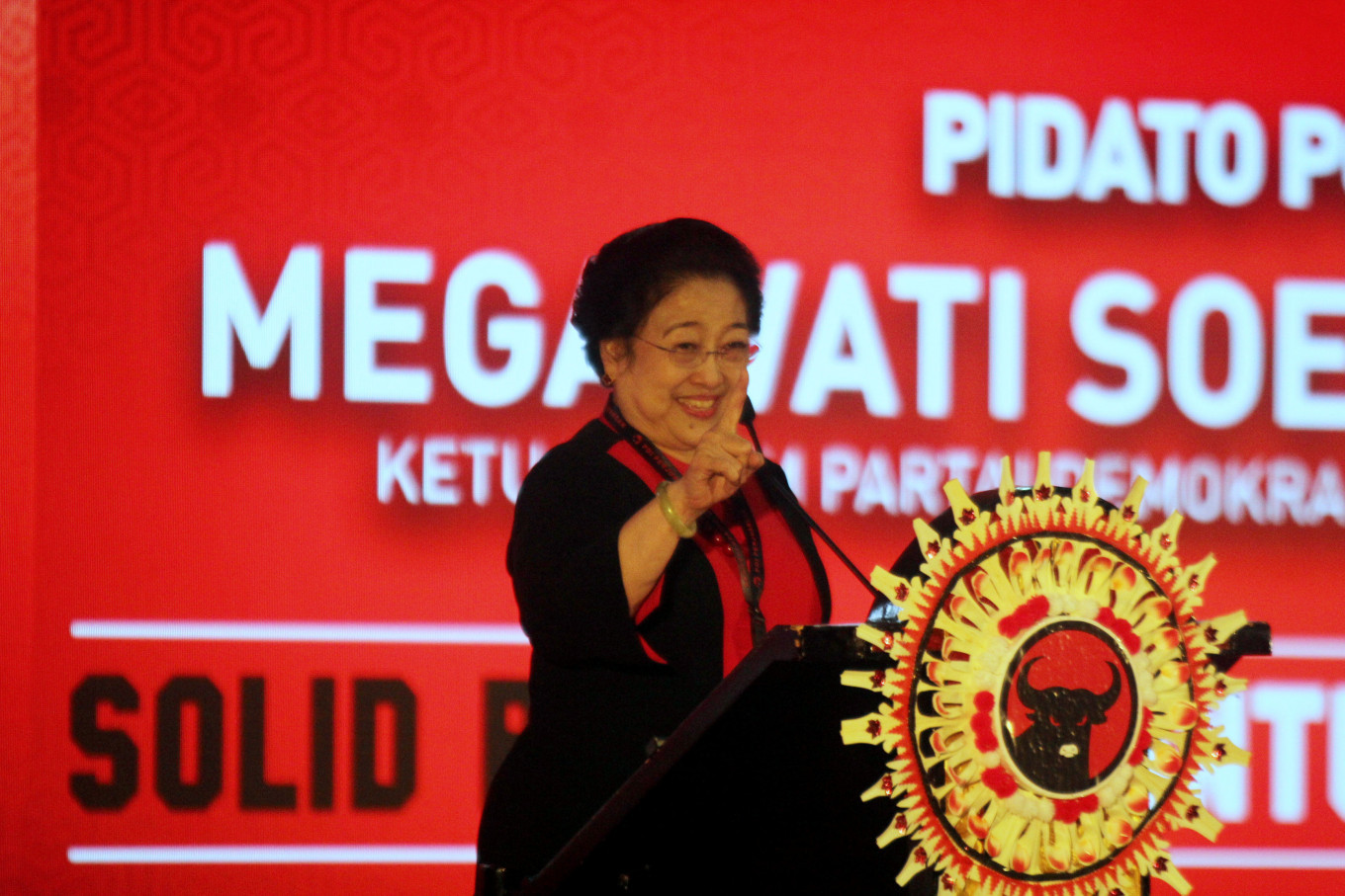 Female military commander? Why not, Megawati says