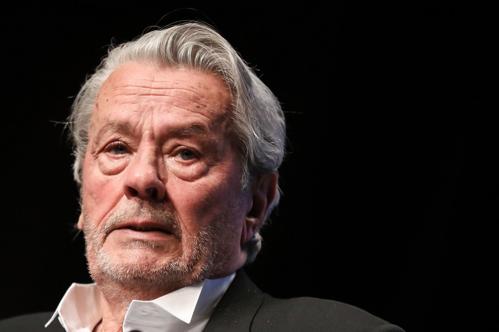 French star Alain Delon 'getting better': Son ...