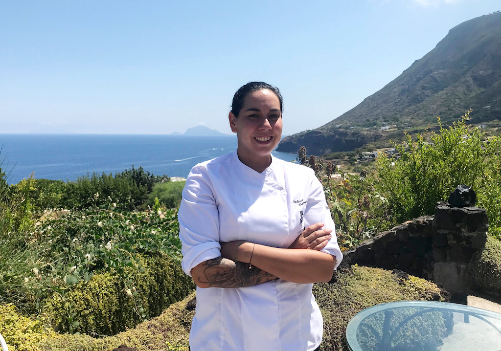 Italy's top female chef mixes it up with flavours from a tiny island