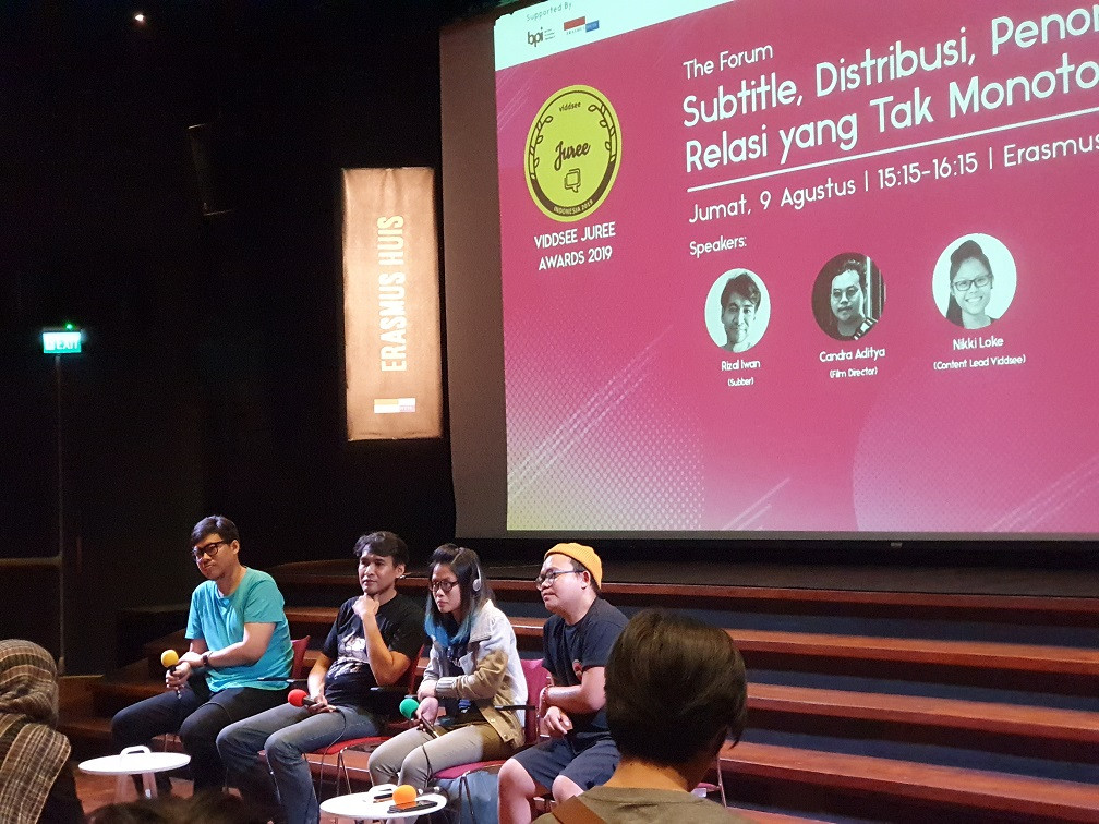 As Indonesian cinema goes global, subtitlers remain behind the scenes