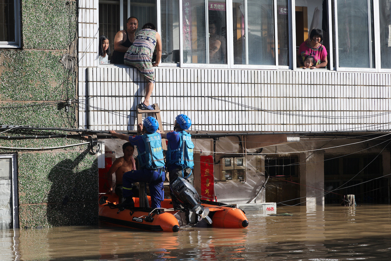 Image result for Death toll rises to 44 as typhoon Lekima wreaks havoc in eastern China