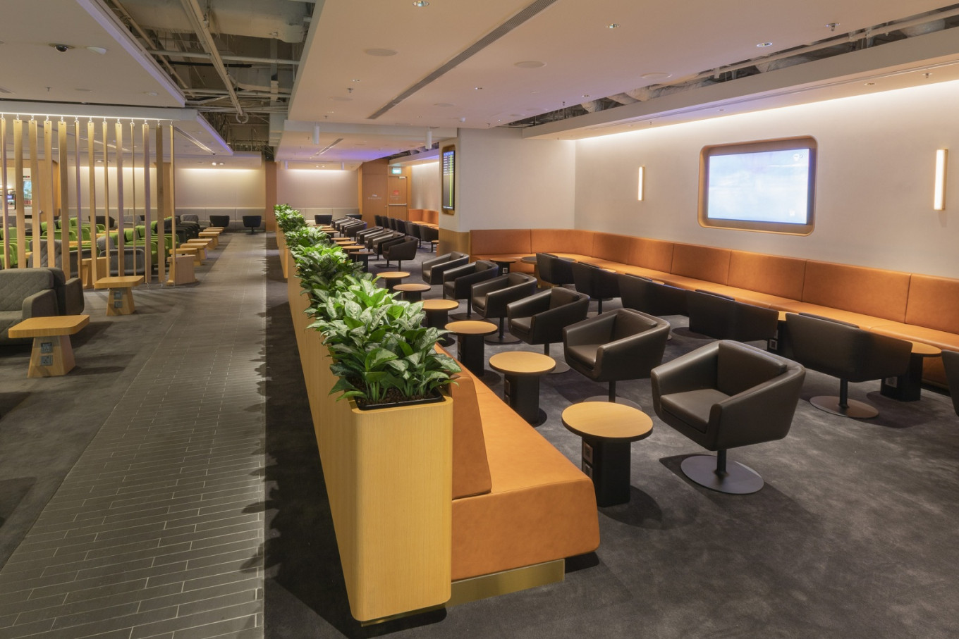 Qantas spoils Changi travelers with newly expanded business lounge