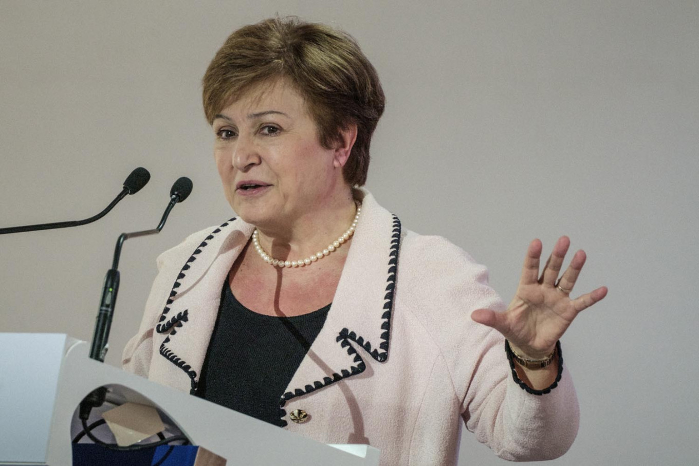 Indonesia backs Georgieva nomination for new IMF chief