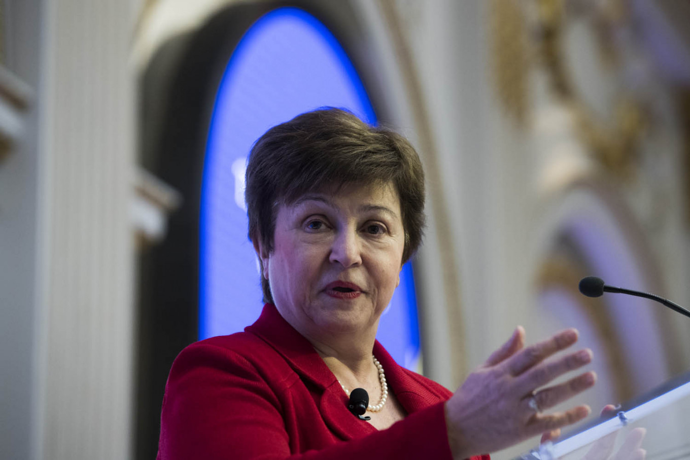 World Bank's Georgieva poised to become second female IMF chief