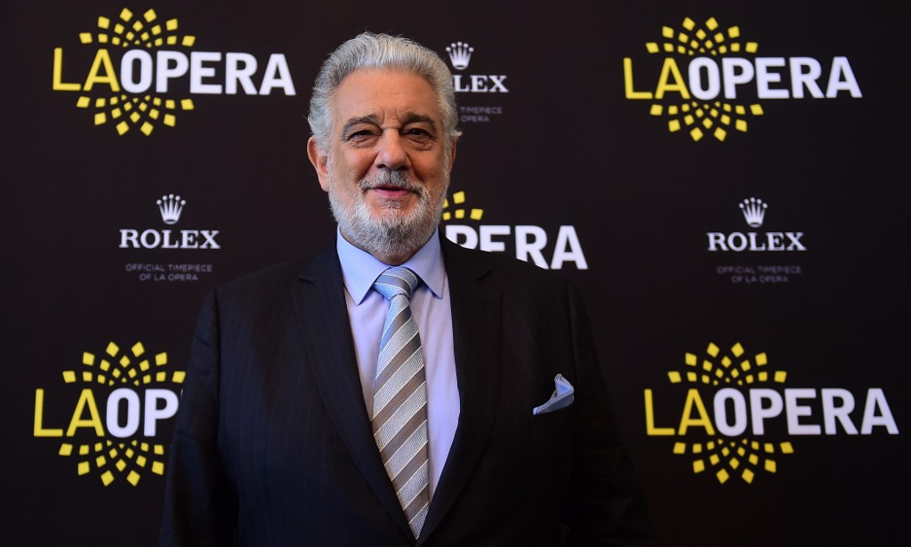 Scandal-hit Placido Domingo withdraws from Tokyo Olympic event