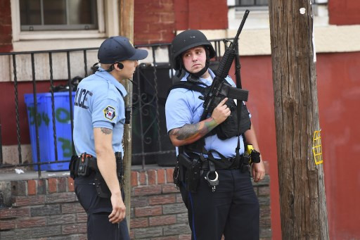 Six US police wounded in Philadelphia shooting