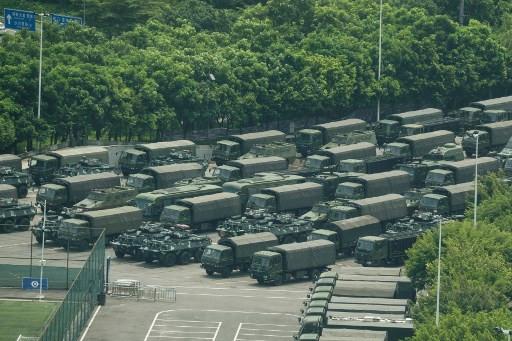Trump links Hong Kong crisis to trade as weekend rallies loom