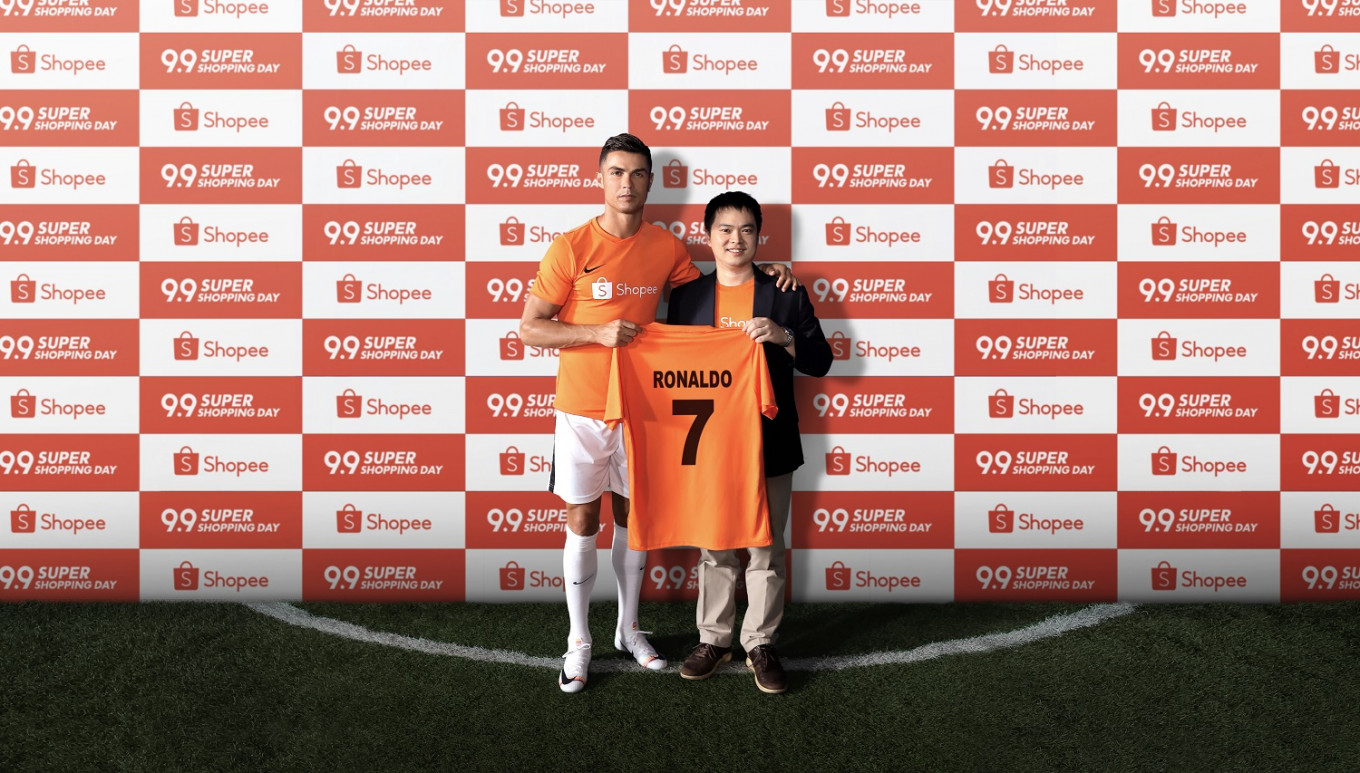 Shopee announces Cristiano Ronaldo as newest brand ambassador