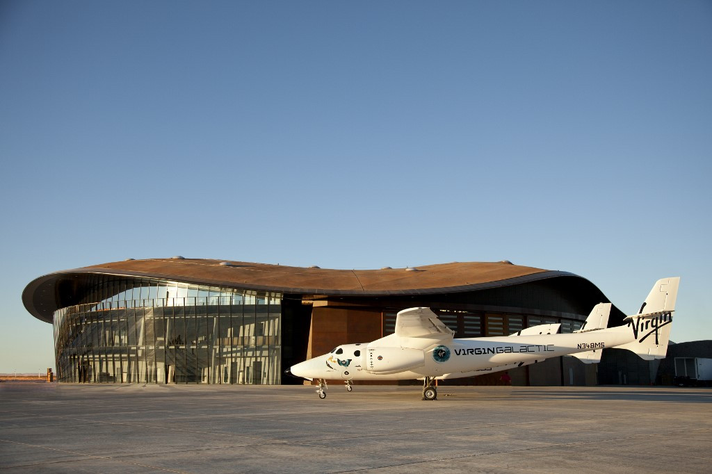 Virgin Galactic unveils new Mission Control for space tourism