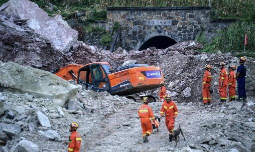 17 missing in southwest China landslide