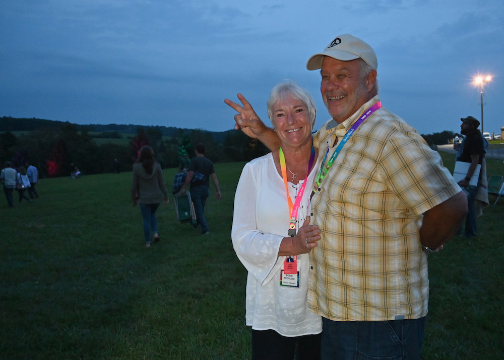 Meet the Ercolines, the Woodstock lovebirds whose hug made history