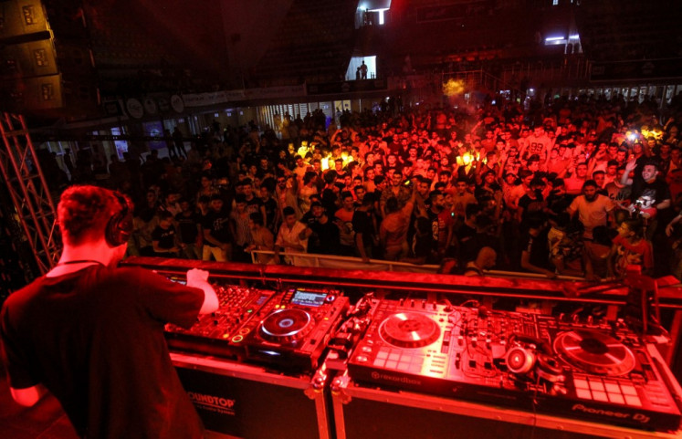Beats replace bombs: Young Iraqis revel at summer festival