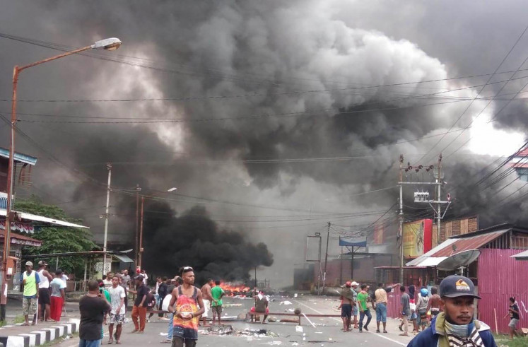 Papua riots: Long-running protest with no solution