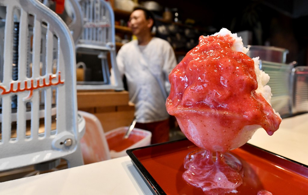 High-end rebrand makes life sweet for Japan's 'ice farmers'