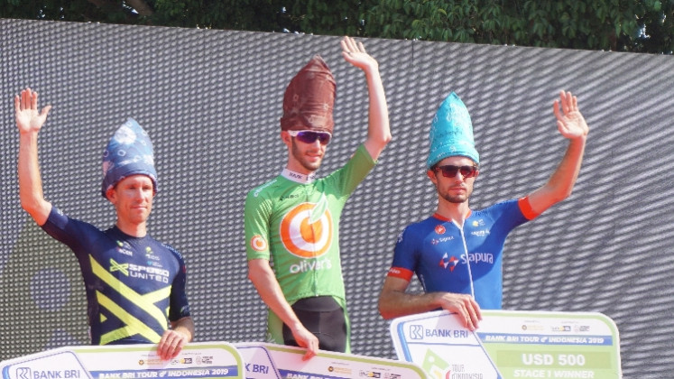 Australia's Lyons beats heat to win first stage of 2019 Tour de Indonesia