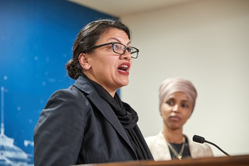 Tearful Tlaib says grandmother advised her against Israel trip
