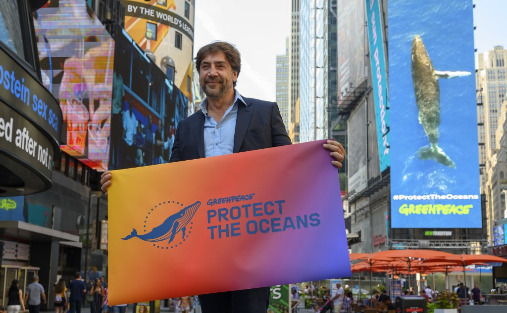'Save our oceans', Oscar winner Bardem tells UN
