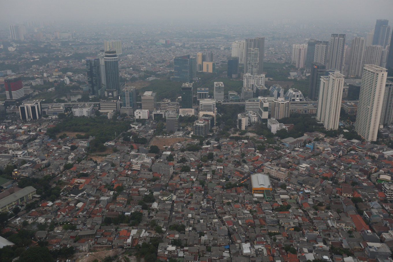 Doing nothing for air pollution violates human rights, Komnas HAM says