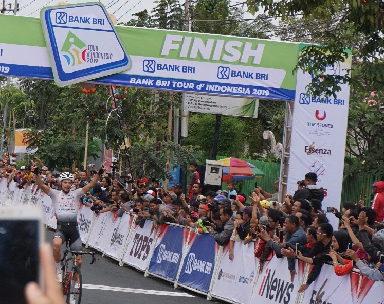Hills, hills, hills in second stage of 2019 Tour de Indonesia