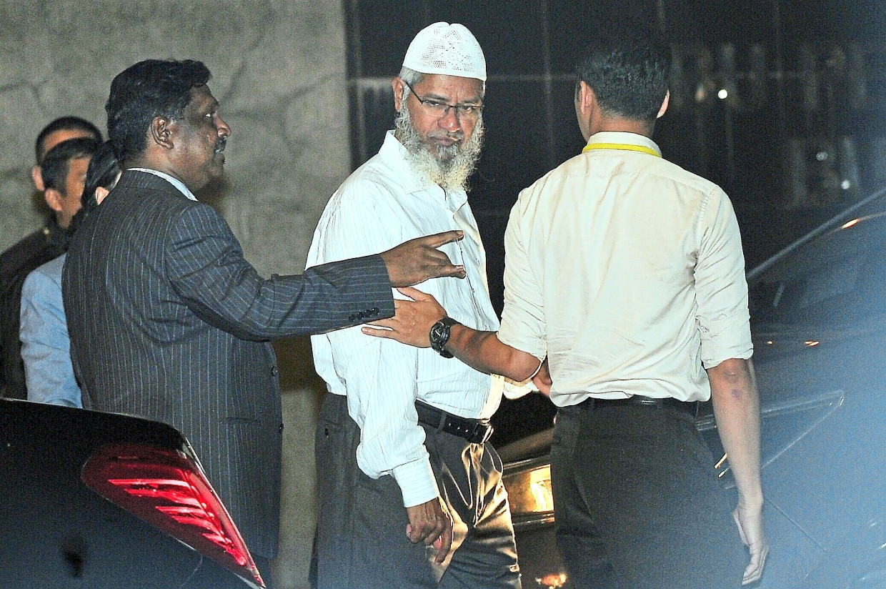 Time to deport Indian Muslim preacher Zakir Naik, says Malaysian activist