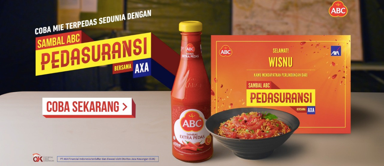 Spicy challenge from Sambal ABC