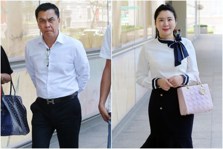 Mistress sued for $2m says Singaporean businessman lover told her she was the 'woman in his heart'