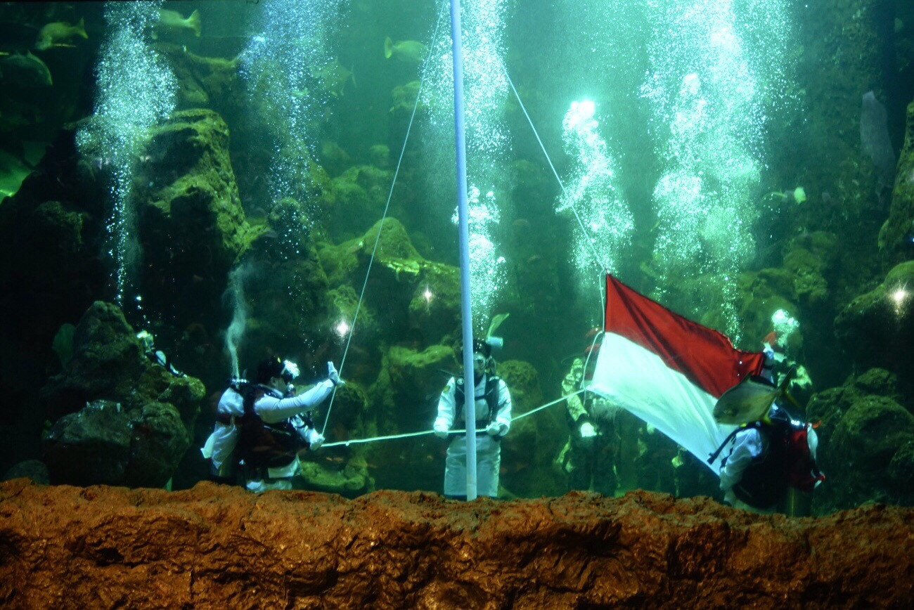 Ancol to celebrate Indonesia's 75th anniversary with underwater ceremony