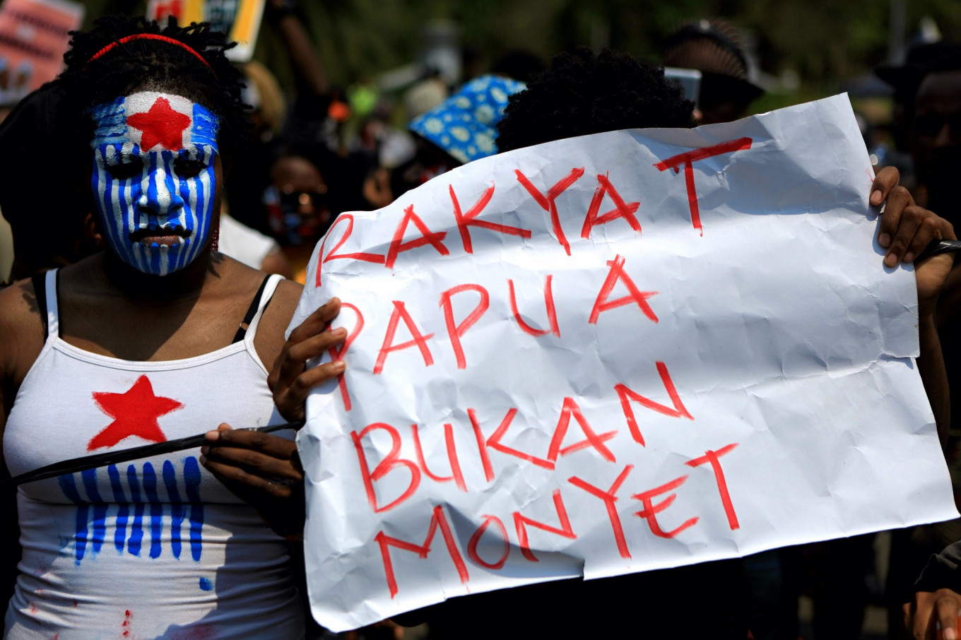 Protests against racial abuse of Papuans kick off in Jakarta