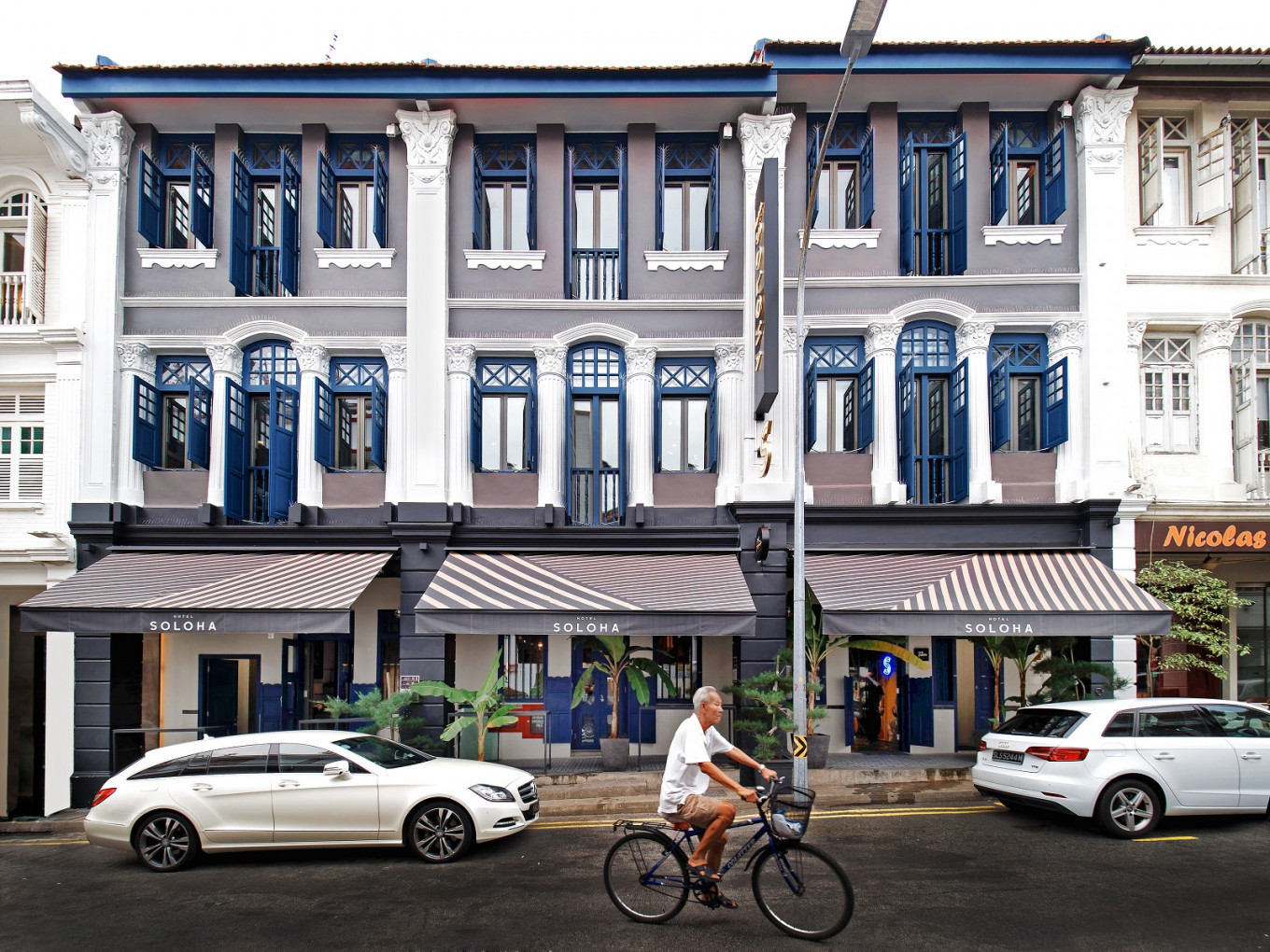 Singapore welcomes Hotel Soloha's jungle-chic aesthetic in Keong Saik