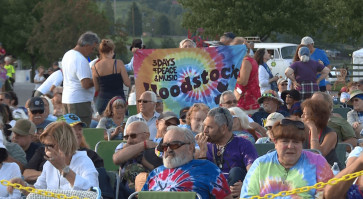 Baby boomers revel at Woodstock 50 years on