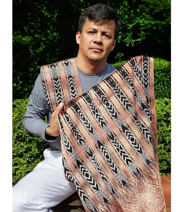 Arturo Estrada Hernandez of Mexico is one of the speakers at the 2019 World Ikat Textiles Symposium (WITS) 2019, which opens on Friday and runs until Sunday.