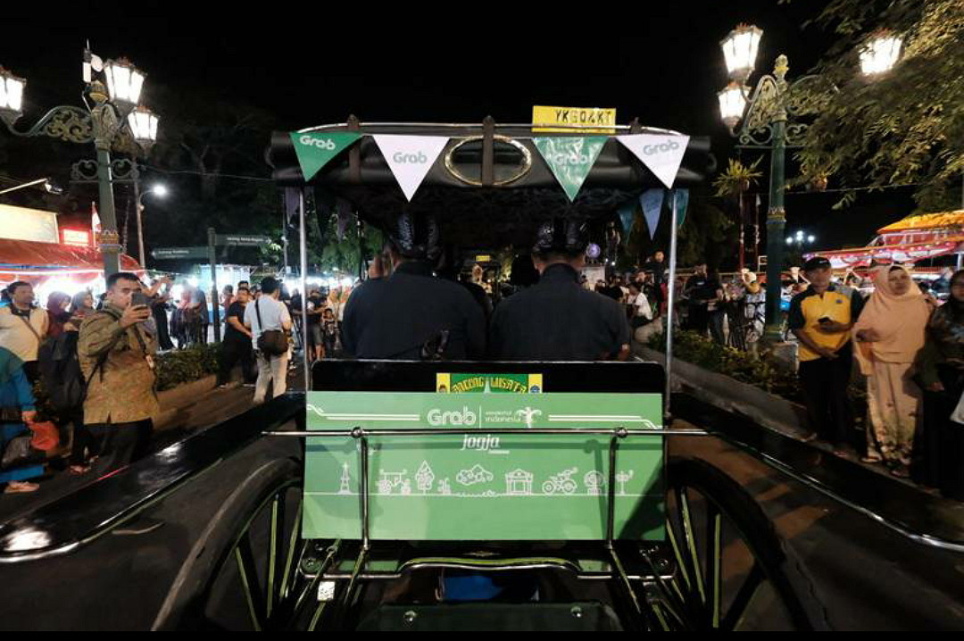 Tourism minister launches hyperlocal GrabAndong transportation in Yogyakarta